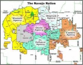 the navajo nation geography and agencies