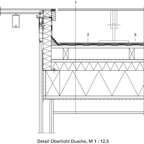 Garage Flachdach Holzkonstruktion by Deutsche Bauzeitschrift