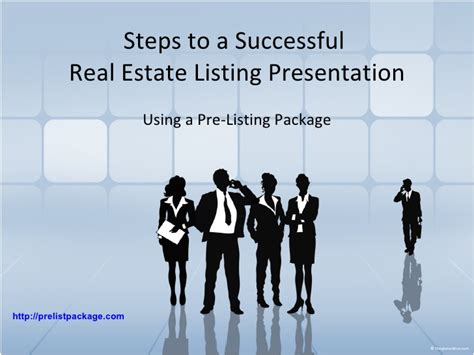 real estate presentation steps to a successful real