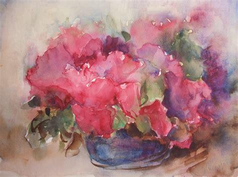 fiori acquarello luigi meregalli 187 natura