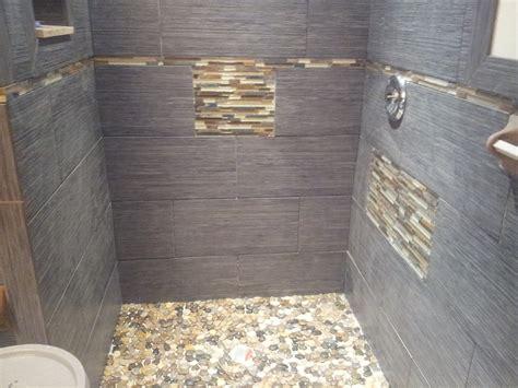Riverstone Tile Bathroom Floor Installation Photos Custom Tile Showers In Margate New Jersey