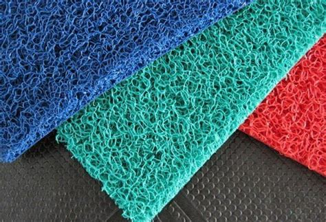 Karpet Plastik Biasa jual keset karet lantai karpet mobil murah
