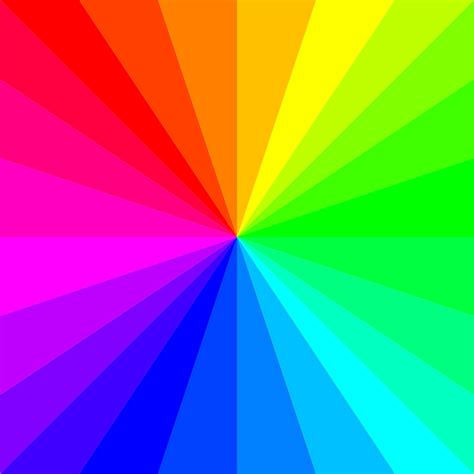 Rainbow Unicorn Palleta 12 Colour vector gratis colores arco iris degradado imagen