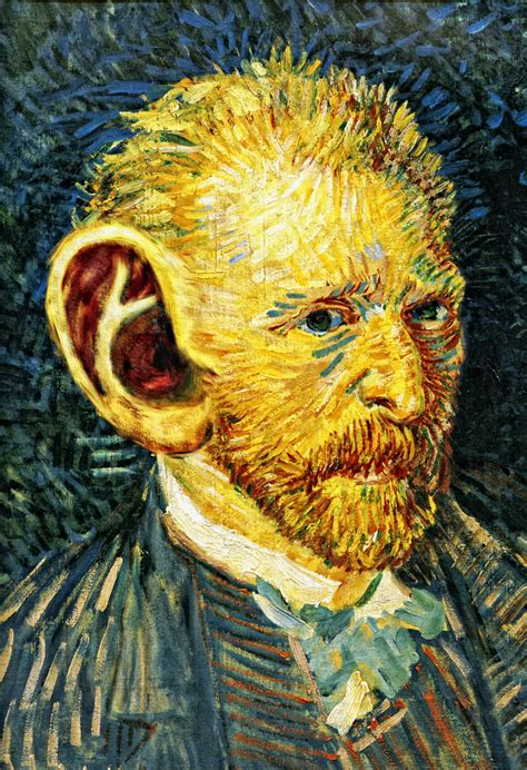 van gogh ear the hidden history of art theraf69 s blog