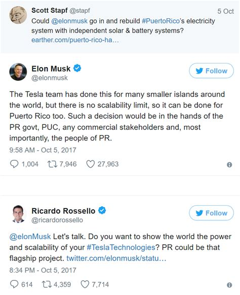 elon musk power ledger elon musk offers to help puerto rico rebuild with solar
