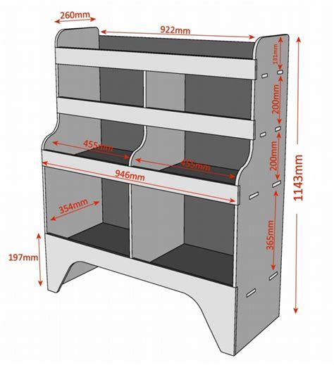 Berlingo Racking by Citroen Berlingo Plywood Racking Shelving Unit Wr11