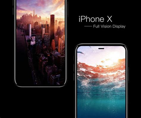 iphone x concept with vision display is perhaps the iphone of our dreams