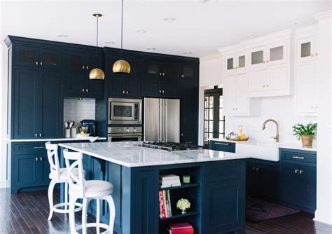Blue Kitchen Jackson Navy Blue Kitchen Design Alexandra Interior Design