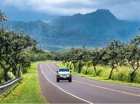 cheap kauai rental cars car hire jetsetz