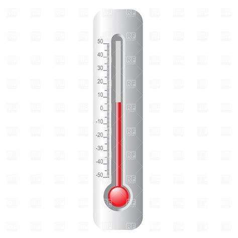 thermometer clip thermometer 1175 technology royalty free