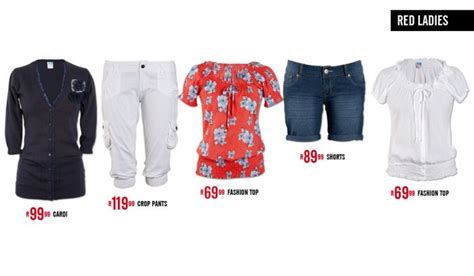 new clothing at mr price all 4