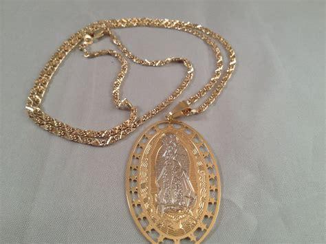 cadenas de oro rosario virgen de guadalupe cadena dos oro rosario our lady of
