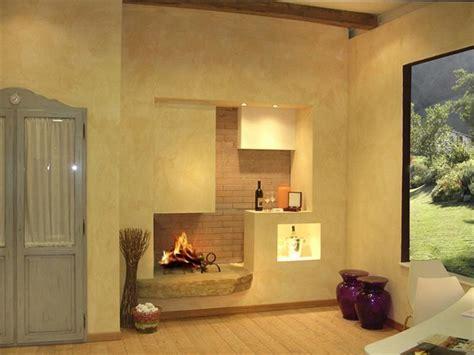 camini moderni in cartongesso soggiorno moderno con camino idee e design