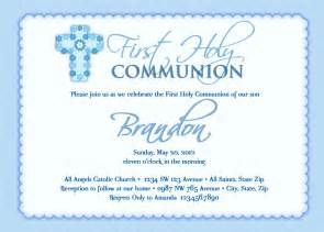 boy s communion invitations communion invitations