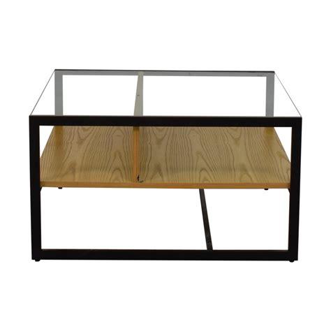 elm glass coffee table elm wood table coupon