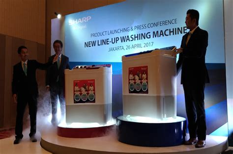 Mesin Cuci Sharp Kapasitas Besar sharp luncurkan mesin cuci kapasitas besar