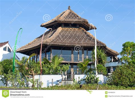 Dukuan House Bali Indonesia Asia tropical house in bali indonesia stock photo