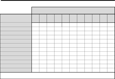 table chart template charts templates free 28 images free charts templates