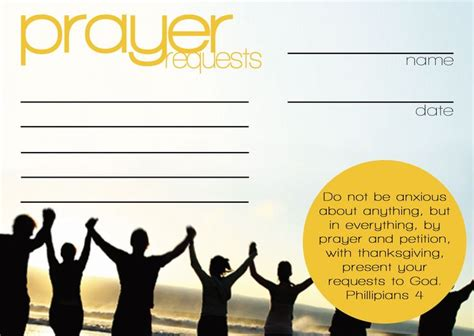 praying card template prayer request cards templates favorite q view size