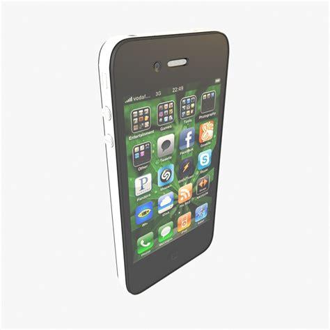 Iphone Cdma 3d apple iphone 4 cdma model