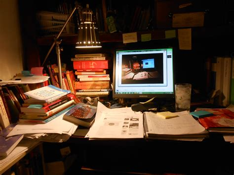 NaBloPoMo 5: Cluttered Desk, Clutter of Kitties   JaniceHeck
