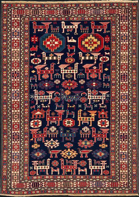 caucasian rug shirvan rug with animals and birds caucasian rug