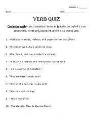 teaching worksheets quizzes