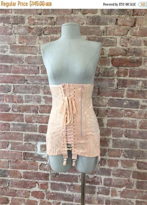 men in open bottom girdles 1940s girdle el ee s deadstock unworn girdle corset