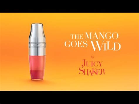 Lancome Goes Green by The Mango Goes By Shaker Lanc 244 Me
