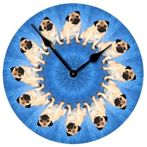 pug clocks pug clock
