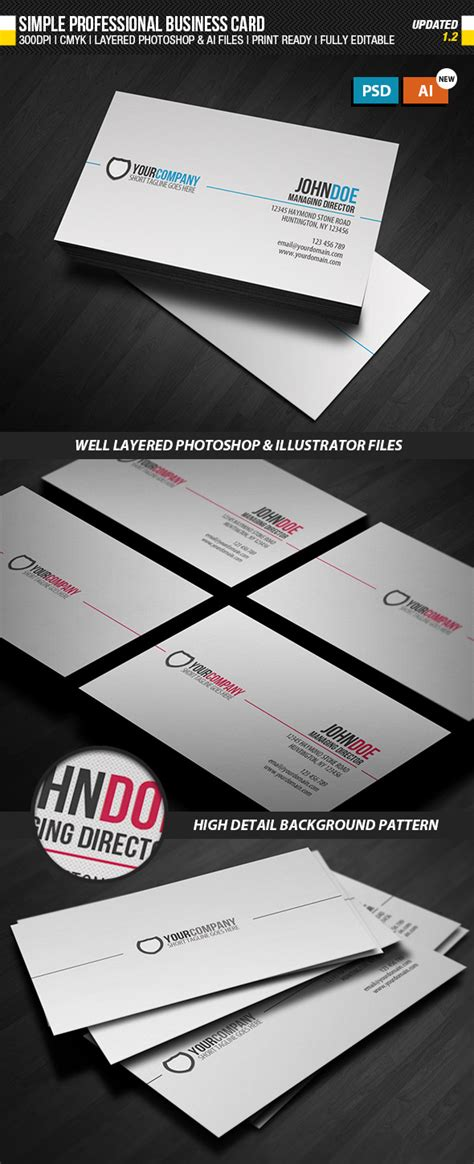 Sided Business Card Template Photoshop by Printing Sided Business Cards Illustrator Gallery