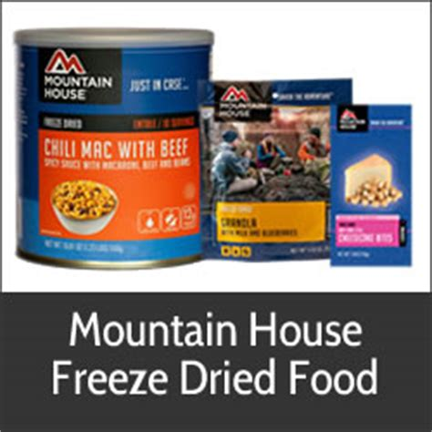 mountain house food mountain house freeze dried food emergency survival