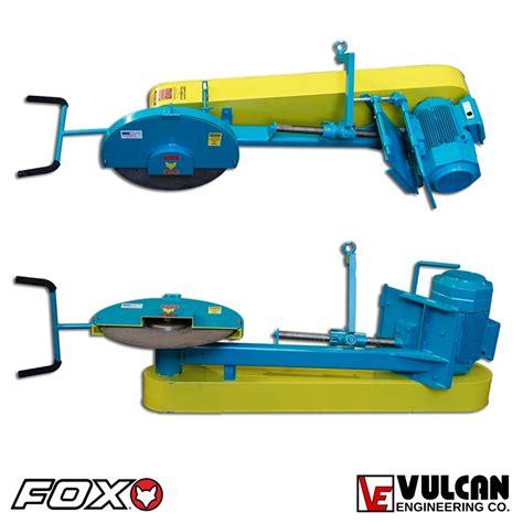 machine swing fox 174 2 c swing frame cut off machine