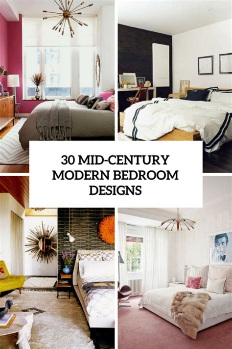 Scandinavian Homes Interiors by 30 Chic And Trendy Mid Century Modern Bedroom Designs