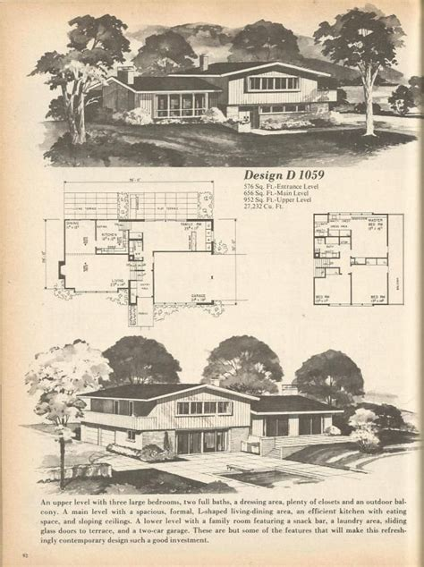 Vintage House Plans 1970s 146 best images about vintage house plans 1970s on