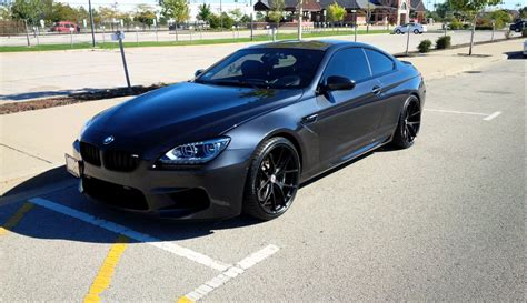 Mx6 Interior All Black Bmw F13 M6 Looks Menacing Autoevolution