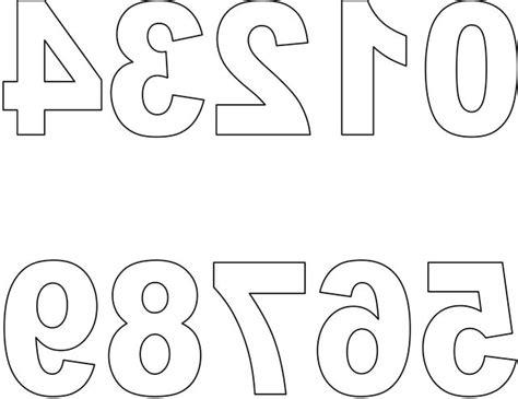 8 best images of printable block number 0 large number 0