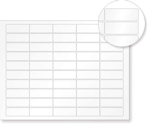 printable asset labels quickguard vinyl asset tags 190 in x 2 in 50 labels