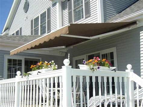 Aleko Awning Installation 窗户伸缩雨棚设计 阳台遮雨棚图片 设计本专题