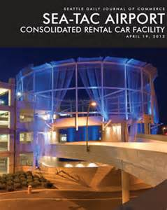 Consolidated Rental Car Facility Djc Sea Tac Rental Car Facility April 19 2012