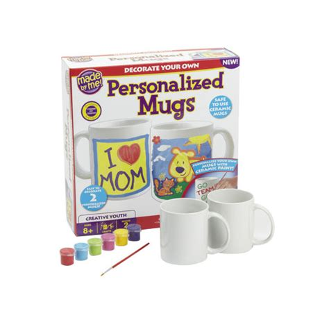 walmart crafts for craft made by me personalized mug kit walmart