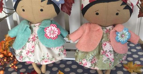 Murah L 951 Backless Soft Apron tilda sweetheart doll craft sewing and aprons puppen