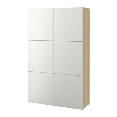 ikea besta pl best 197 kombinacja z drzwiami dąb bejcowany biało laxviken