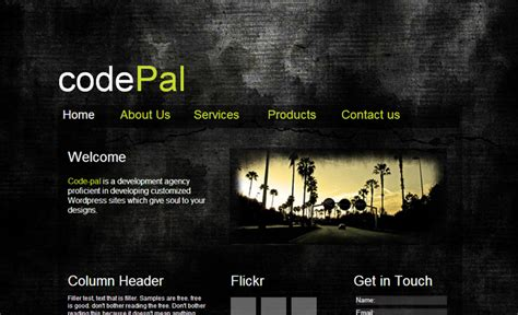 Cool Html Templates by 50 Best Free Html5 Website Templates Preview