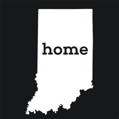Home Design Products Indiana Indiana Home T Shirt State Pride Textual Tees