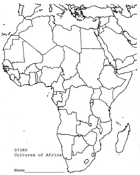 africa map quiz fill in africa map test capitals