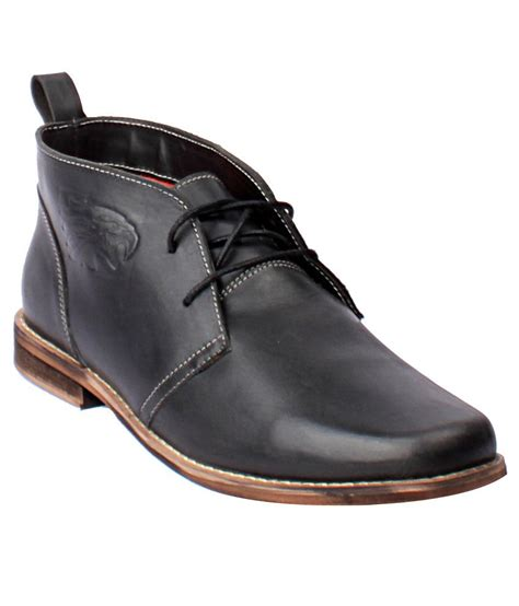 willywinkies black leather casual shoes price in india