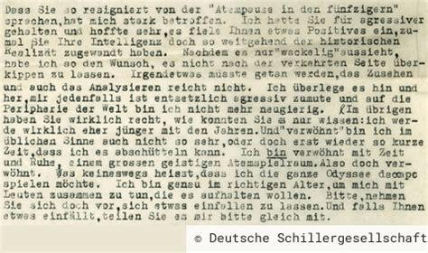 Rekurs Brief Schreiben Unterhaltungen Deutscher Eingewanderten