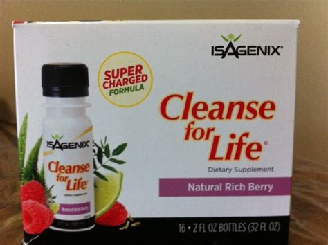 Lifetime Metabolics Detox Liquid by Isagenix Cleanse For Rich Berry Liquid 16