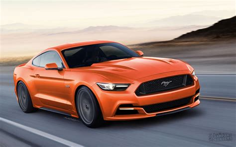 ford mustang 2015 ford mustang rendered with slightly different face